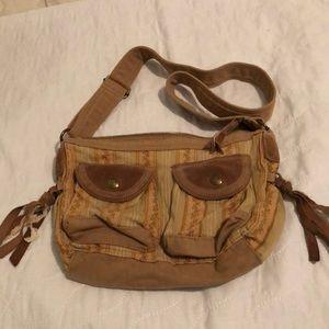 Fossil cloth purse